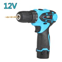 Wholesale cordless drill electric drill Lithium battery drill Two Speed Rechargeable Waterproof Hand Drill Electronic tools
