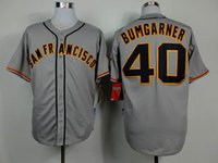 Wholesale 2014 World Series Champion San Francisco Madison Bumgarner Grey Away Road Jersey Cool Base Authentic Baseball Jerseys Giant New Jersey