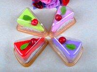 wedding souvenirs - 10pcs cm cm Cherry Cake Towel Mix color Cute Design Small Kerchief Towel Wedding gift Baby shower gift souvenirs