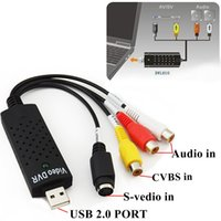 Wholesale USB to RCA Audio S Video TV DVD VHS RW Capture Converter Adapter Cable