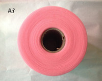 african table setting - 2015 Special Offer TULLE Roll Spool Tutu Wedding Gift Bow Decoration D cupion african cord lace tecidos algodao glory boys