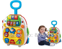 Wholesale Vtech Simulation Luggage Travel Suitcase With Sound Children s Educational Plastic Pretend Play Toy