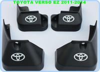 Wholesale High quality ABS chrome mudguard fenderboard splashboard for Toyota Verso EZ