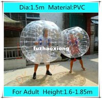 Cheap Dia 1.5m PVC bubble football for adults,bubble Soccer,bumper inflatable human hamster ball, zorb ball Outdoor Fun & Sports Toy