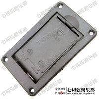battery compartment guitar - 9V black plastics active pickup guitar battery compartment guitar battery case V bass battery box LJ