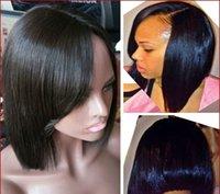 Cheap human hair wig Best bob wigs