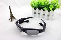 Wholesale New Wireless Bluetooth Sunglasses Headset Headphones For iPhone Samsung HTC Nokia