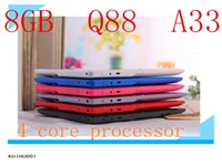 android external camera - 20PCS Allwinner A33 GB inch Capacitive Quad Core Android dual camera Tablet PC