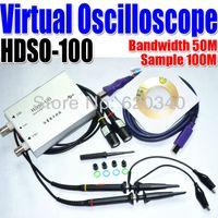 Wholesale HDSO M Dual Channel USB Digital Virtual Oscilloscope M Sampling Rate Support WIN7 Oscilloscope portable order lt no t