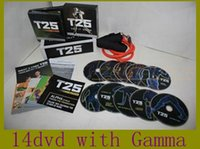 Wholesale T25 Focus DVDs Video min order Body Exercise Program Fitness Slimming Teaching Alpha Beta Gamma Core Speed