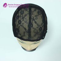 Wholesale S M L Wig caps for making wigs Glueless full lace Wig Caps Adjustable Strap On the Back