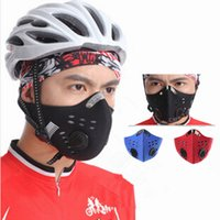 Wholesale Activated Carbon Dust Face Mask Outdoor Sports for Men and Women Bicycle Motorcycle Face Protection Winter Mouth Mask cm