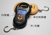 Cheap Wholesale-50Kg Hanging Scale Digital BackLight Fishing Luggage Pocket Weight Kg Lb