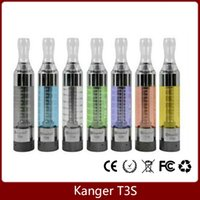 ecigs - Kangertech T3S Atomizer T3 Upgraded Vaporizer ml glass tube t3s replacement coils ego thread ecigs tank