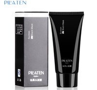 Wholesale Pilaten blackhead remover Deep Cleansing the Black head Acne remover black mud face Tearing style oil skin g B