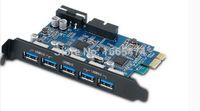 Wholesale ORICO PVU3 O2I Desktop Port USB3 PCI Express Card for Laptop with VLI chipset