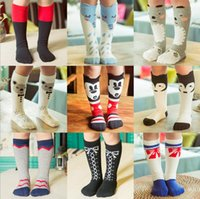 baby girl cartoon images - LJJD3565 pairs Baby leg warmers infant cotton socks leg warmers baby cartoon stockings Animal image stockings Baby girl Cartoon socks