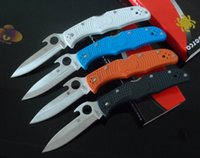 features - New Arrival Folding Knife Spyderco C10GYW Endura Emerson Opening Feature