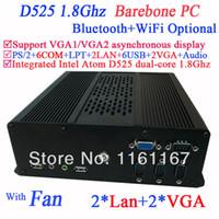 atom barebone - Barebone ITX PC Mini PC Computer with VGA LAN COM multi function NM10 Intel Atom D525 dual core Ghz CPU