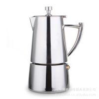 Wholesale beng Italian Moka servings ML stainless steel Moka espresso mocha coffee pot meter embankment B20