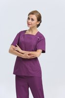 Wholesale 2015 OEM scrub sets women medical nursing doctor scrub set uniform plus size hot selling