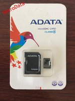 Wholesale 64GB Micro SD Card Class Memory Card Flash Micro SD SDHC TF Card with Adapter and Retail Package Free DHL EMS Microdata