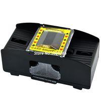 Wholesale New Decks Quick Shuffling Playing Cards Card Poker Shuffler Automatic Machine B16 TK0672