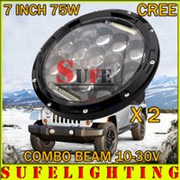 atv products - Factory Product inch W LED Work Light V V Flood Combo DRL Truck Offroad ATV Tractor Fog Light LED Work light