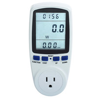 amp usage - US Plug Power Meter Energy Monitor Watt Voltage Amps Meter Analyzer With Power Electricity Usage Monitor HP0001101