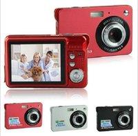 Sourire vidéo Prix-Caméscopes numériques HD 16MP 2.7 TFT 4X Zoom Souris Capture Anti-shake Caméscopes vidéo 1280 x 720 Beaucoup de couleurs