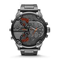 Wholesale clcok new DZ quartz watch men luxury brands sell like hot cakes Japanese quartz clock fashion watches Leather strap watch