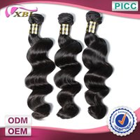 Wholesale Hair Braiding Styles Real Human Hair Top Quality Length To Inch Natural Color Pieces Loose Wave