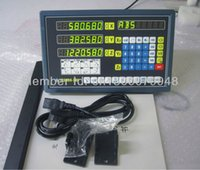 Wholesale 2 axis digital readout and linear scale mm mm measure length