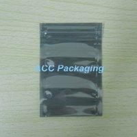 antistatic packaging bag - 6 cm Anti Static Shielding Bags ESD Anti Static Pack Bag Zip Zipper Lock Top Waterproof Self Seal Antistatic Package Bag