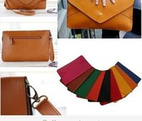 Wholesale Women lady Clutch Envelope Handbag Purse Messenger HOBO Bag PU Leather