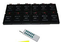 Wholesale fireworks firing system A12 wireless remote control firing system Cues Fireworks Firing System