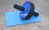 Wholesale Best price Abdominal Wheel Ab Roller With Mat For Exercise Fitness Equipment pcsA1A