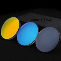 astigmatism sunglasses - Bright white reflective sunglasses mercury coated sheet deep lens polarized sunglasses myopia astigmatism custom sheet