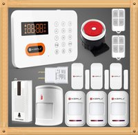 auto immune system - KERUI X1 PSTN Landline Touch Keypad Wireless Alarm Systems Security Home LCD Burglar Alarm System Wireless Pet Immune Detector