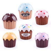 Wholesale Sweet Cake Shape Home Extraction Napkin Bins Box Ice Cream Tissue Paper Tube