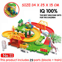 beautiful track - original Thomas train small electric trains track beautiful small assembling puzzle toy