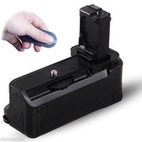 Wholesale BG CIR Pro Vertical Battery Grip Holder ABS IR Remote for Sony A7 A7R A7S DSLR