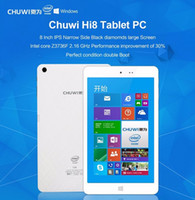 Wholesale CHUWI Hi8 Tablet PC Windows Android Dual Boot quot inch Quad Core X86 Intel Z3736F GB GB White