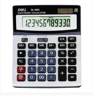 Cheap Plastic calculators Best Dual Power Supply World Time Clock calculator 1654