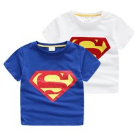 baby testing - Cool New Superman boy T shirt Toddlers baby kids clothing Quality blue white cotton tested Comfort Short sleeve t shirts Summer Novelty