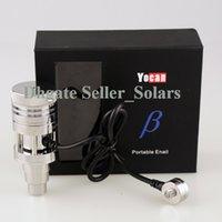 Beta Yocan Portable Kit Enal Vaporisateur d'origine fumeurs Bong accessoire rapide chauffage Nero technologie DHL gratuit