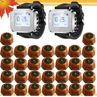 Wholesale Wrist Pagers Wireless calling Systems For Restaurant Coffee Shop Pub Waiter Service Calling Ststem Wireless Waiter Calling System