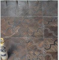 Wholesale Metal flooring Stainless steel wood floor Copper wood floor Mosaic floor Combination floor High end custom floor Design House floor Jade inl