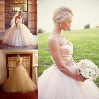 Wholesale Modest Plus Size Wedding Dresses with Sweetheart Neckline Corset and Tulle Beaded Ball Gowns Classic Long Garden Vestidos De Novia Sale