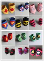 america arms - Super hero Iron Man Superman Captain America Hulk Spider Man wristband Halloween Xmas party cosplay armguard arm Wrist CY2932